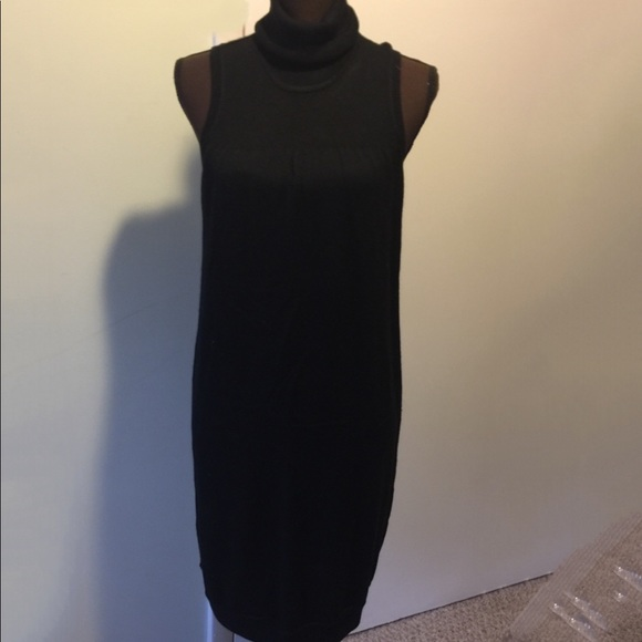 43ea2ac24289 Calvin Klein Dresses | Sleeveless Turtleneck Sweater Dress | Poshmark